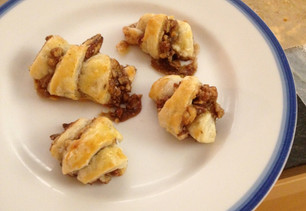 On Thanksgivingukkah, Cooking, Cooking Rugelach (?!), and Writing