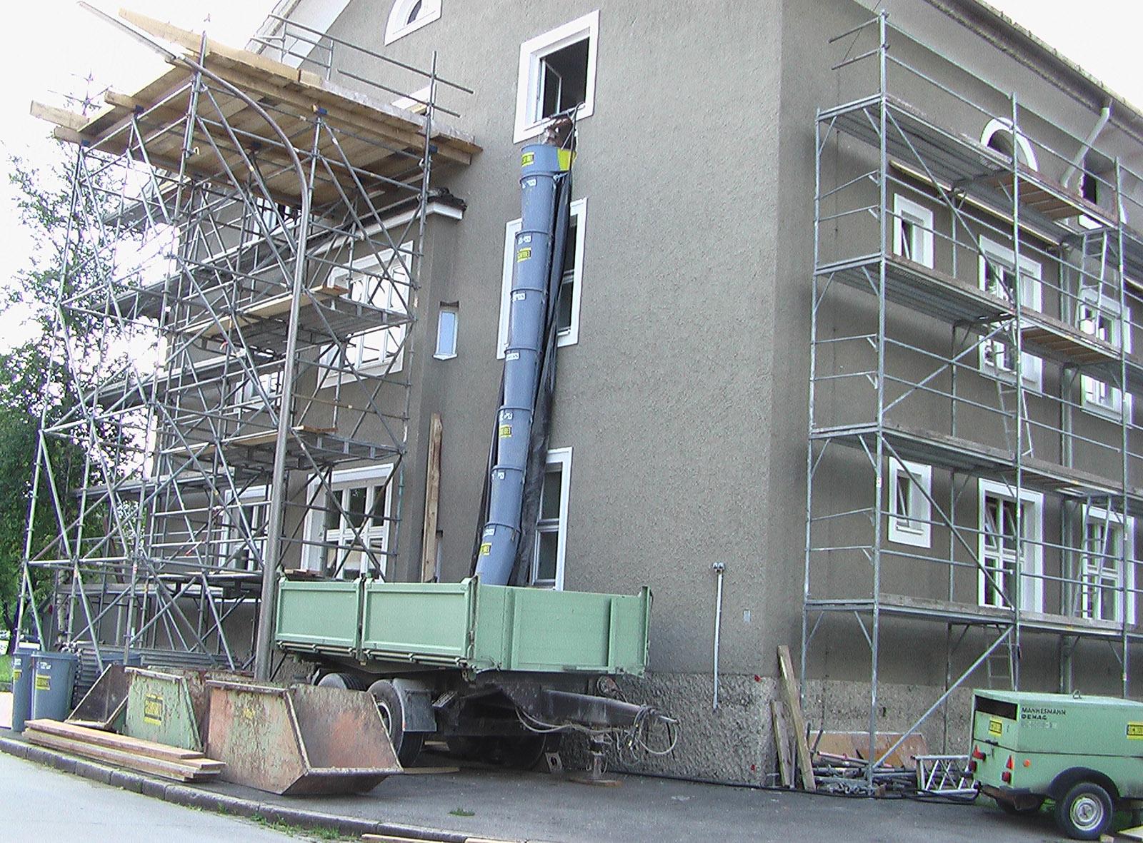 Sanierung Allgäu Kaserne