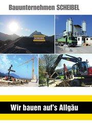 Scheibel Broschüre, Werbeflyer,
