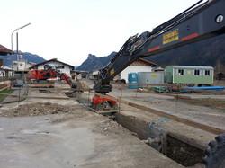 Kanalarbeiten Unterammergau