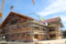Einfanmilienhaus, Mehrfamilienhaus, Baufirma, Scheibel, Bauunternehmen, Pfronten, Schwangau, Halblech, Füssen, Allgäu, Beton, Baustoffhandel
