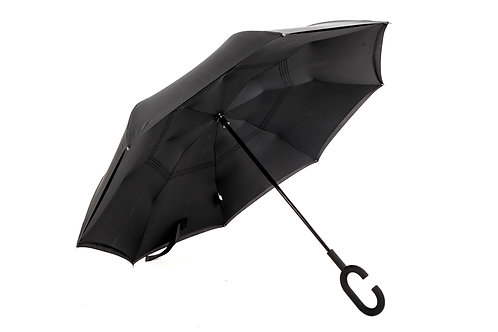 rbrella manual C handle black/black