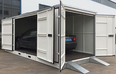 Commercil portable vehicle storage container