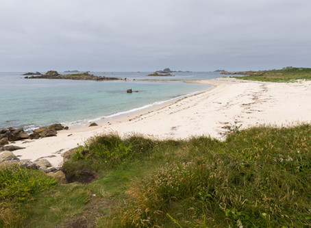 A walk on Bryher
