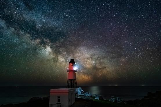 Milkyway at Peninnes lighthouse