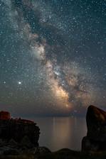 Milky Way over Peninnes