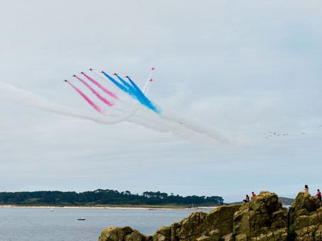 Red Arrows due to return to Scilly