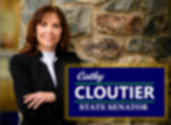 Cathy with Banner.jpg