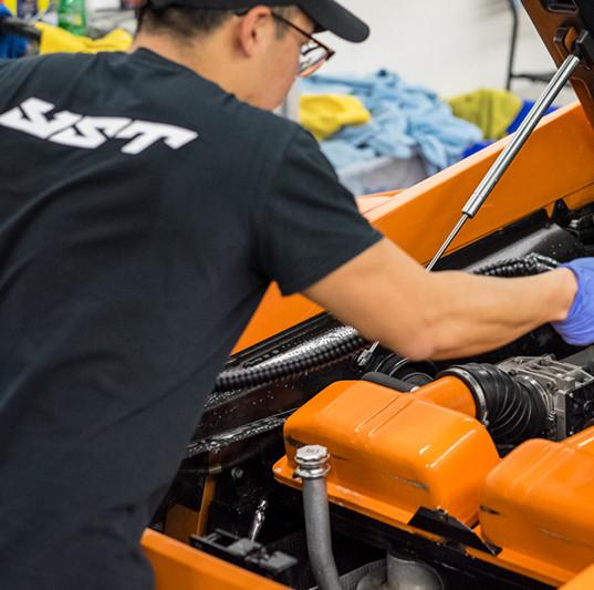 Engine Bay Steam Clean