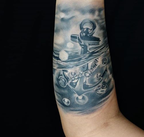 Anchor arm piece
