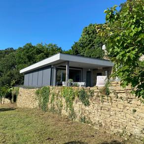 Sonnenschutz für Haus in Triest