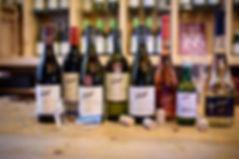 Weine, Frizzante und Verjus aus dem Weingut Niegl.