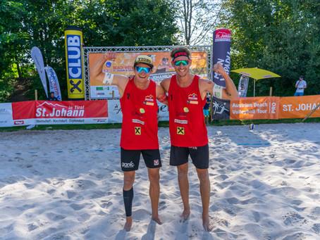 Philipp Waller & Mathias Seiser gewinnen Gold