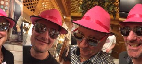 Unser Chef sieht rosarot!