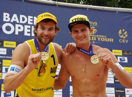 Seidl I Waller gewinnen FIVB Baden Open