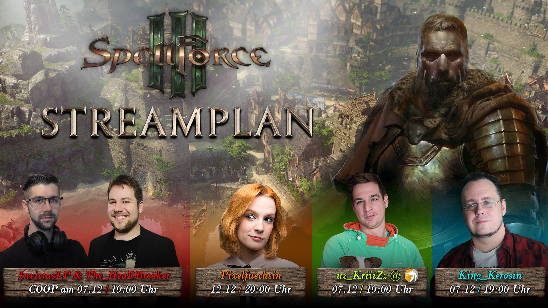 Spellforce Multistream