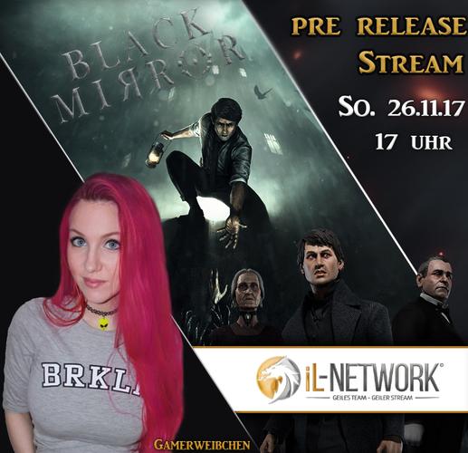Black Mirror Pre-Release Stream