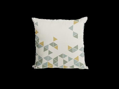 Manifest Beige Velvet Cushion (Large)