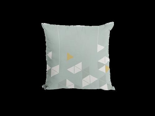 Manifest Turquoise Velvet Cushion (Large)