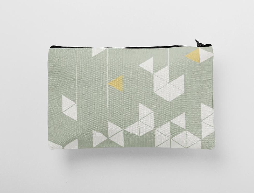 Manifest Green Cosmetic & Wash Bag