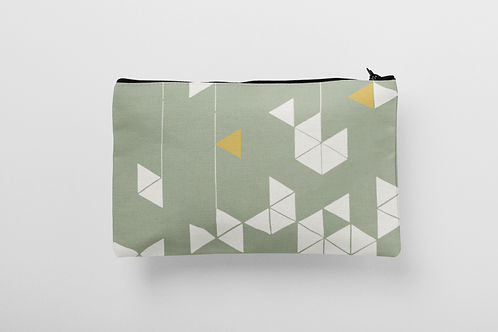 Manifest Green Cosmetic & Wash Bag