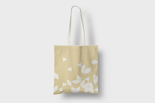 Manifest Yellow Tote bag