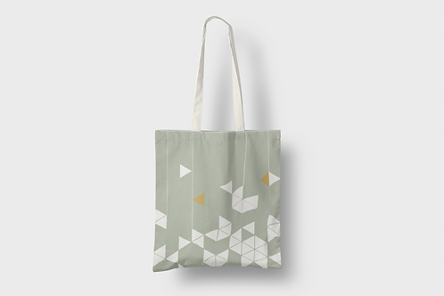 Manifest Green Tote bag