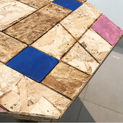 The Folding Chipboard Table