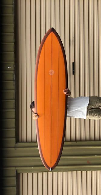 Djooce Single Fin - Daniels Surfboards