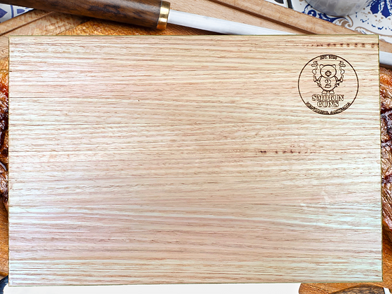 Hand Crafted Tasmanian Oak Chopping Board (485x320x35mm)