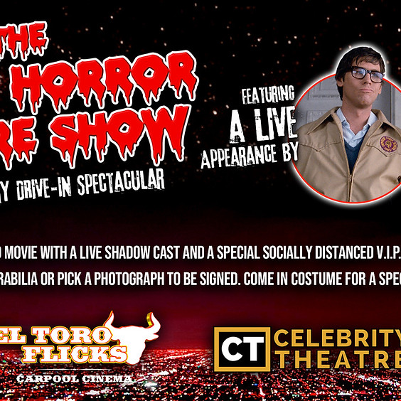 THE ROCKY HORROR PICTURE SHOW w/ BARRY BOSTWICK
