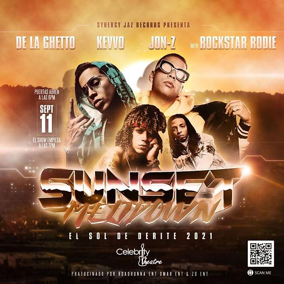 SUNSET MELTDOWN: De La Ghetto, Kevvo, Jon Z, & Rockstar Rodie