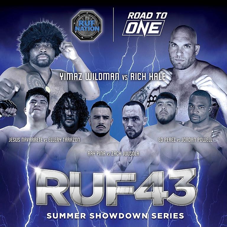 RUF43 SUMMER SHOWDOWN SERIES (MMA)