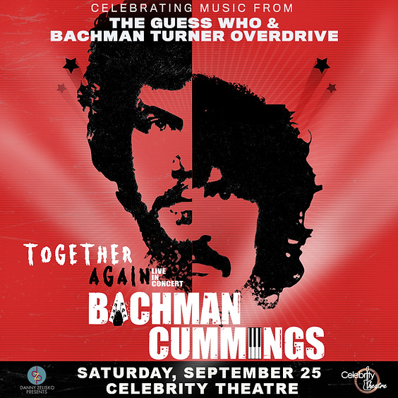 BACHMAN CUMMINGS: Together Again, Live in Concert