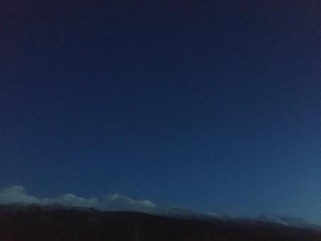 Poem: Blue Snow