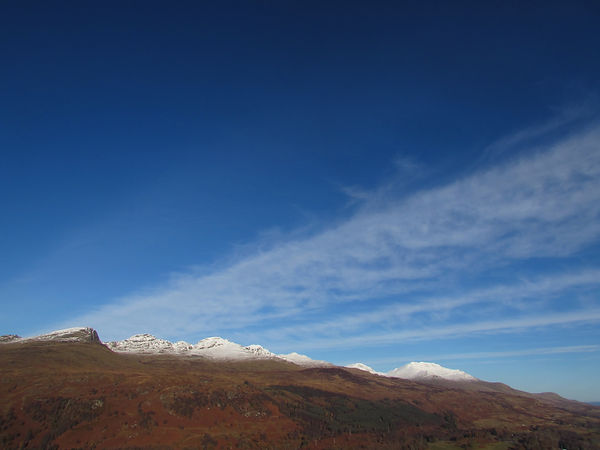 tarmachan ridge massif scotland killin