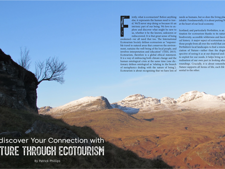 Perthshire Magazine - Rediscover Your Connection with Nature Through Ecotourism