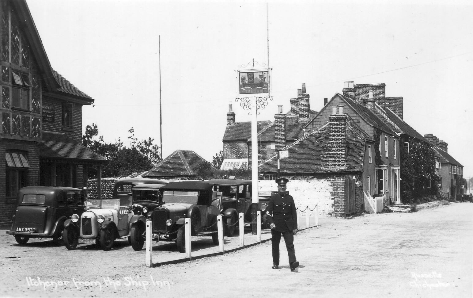 The Ship Inn and Police.JPG