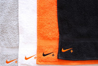 Nike hand towel special project embroidery