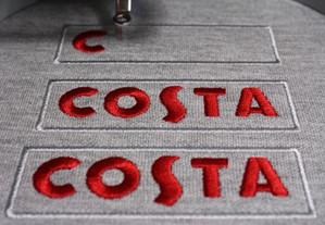 Costa Coffee Uniform embroidery