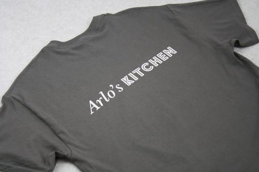 Arlos Kitchen restaurant unifrom printed