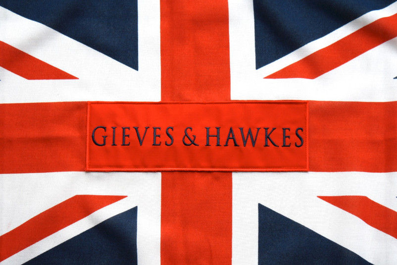 Gieves & Hawkes patch embroidery