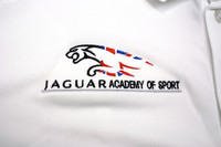 Jaguar Academy of Sport embroidered polo shirt
