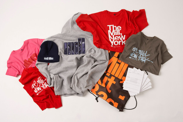The Mill Post Production Co Promotional Merchandise embroidery and print