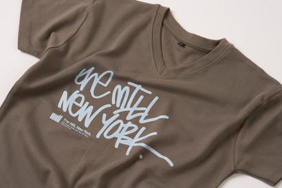 The Mill screen printed t shirt