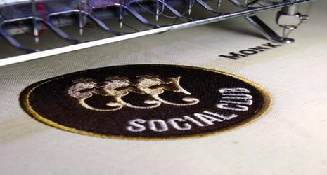 Monkey Shoulder personalised embroidery