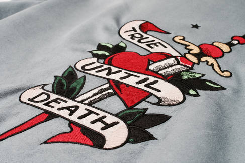personalised embroidery design