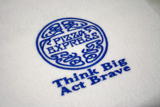 Pizza Express embroidery