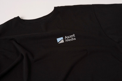 Ascent Media Screen printed tshirt