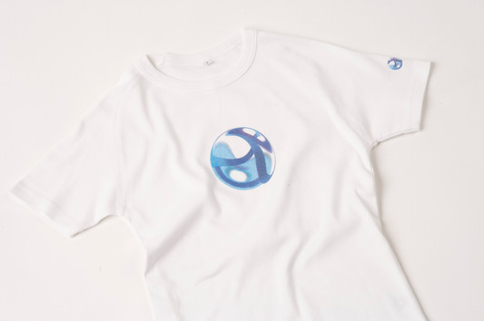 Branded screen printed t shirt